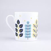 Vue du mug Feuillages Et Mimosa