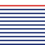 Motif complet du mug La Marinière