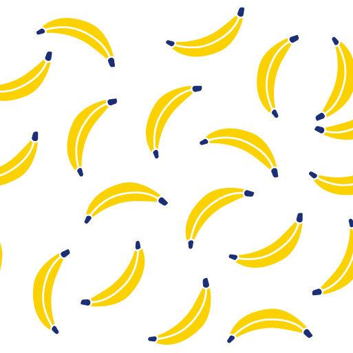 Motif complet du mug banana party
