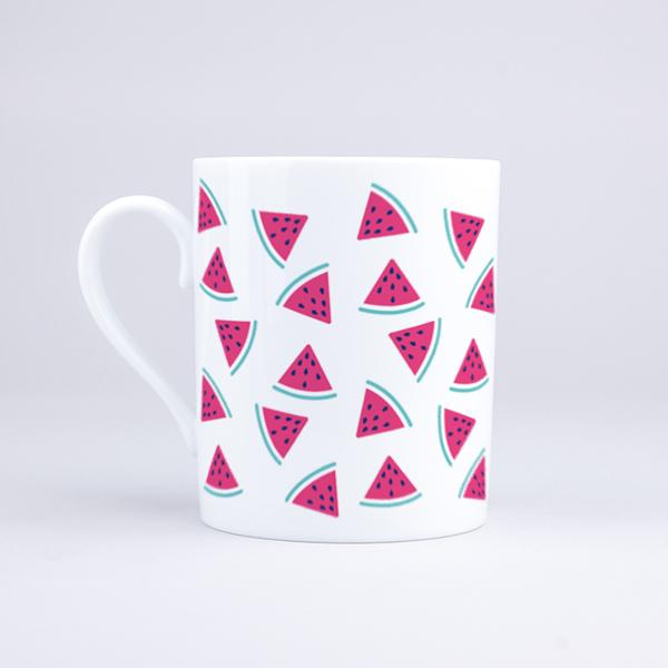 Vue du mug Mini Pastèques