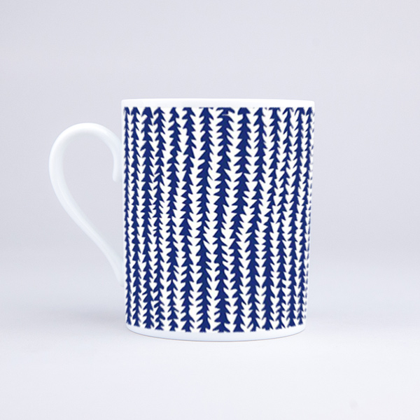 Vue du mug Vegetal Fabric