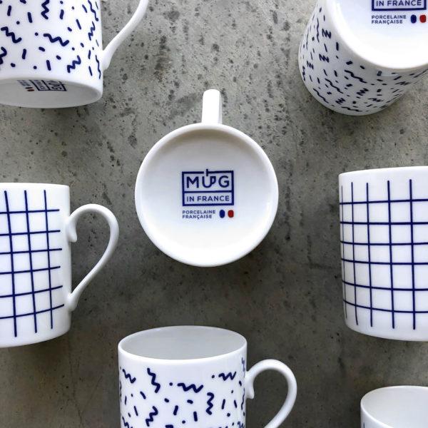 Les mugs ambiance bleu marine