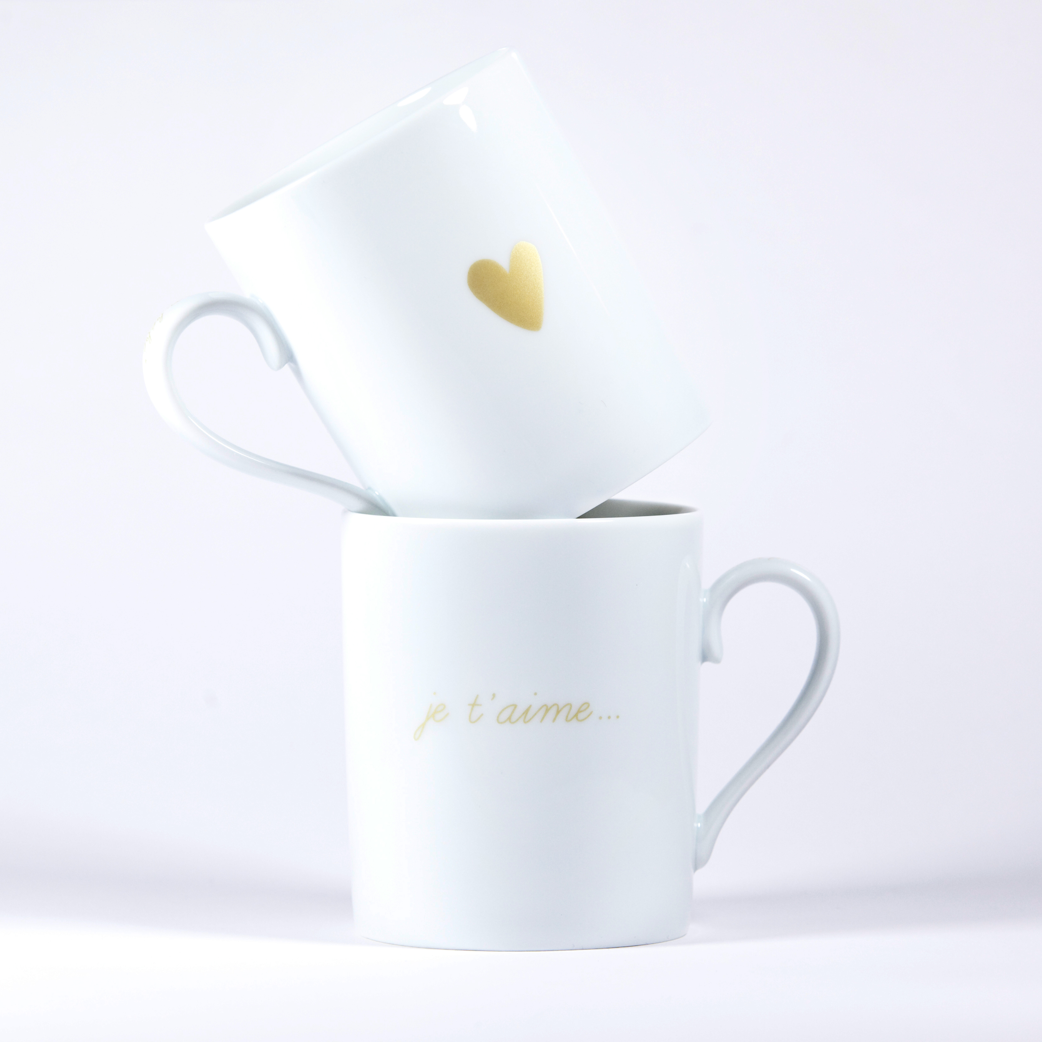 mugs je t aime coeur