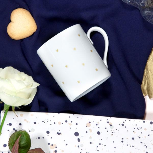 mug petits coeurs arty