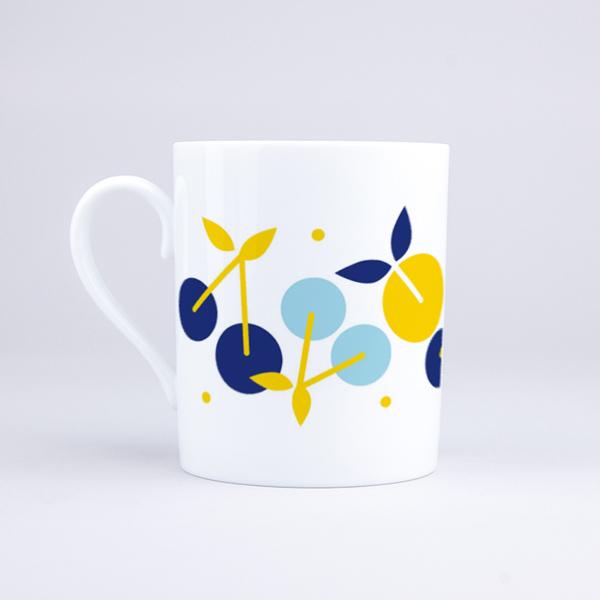 Vue du mug Summer Cherries