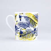 Vue du mug Tropical Toucan