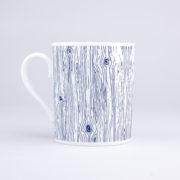 Vue du mug Blue Wood