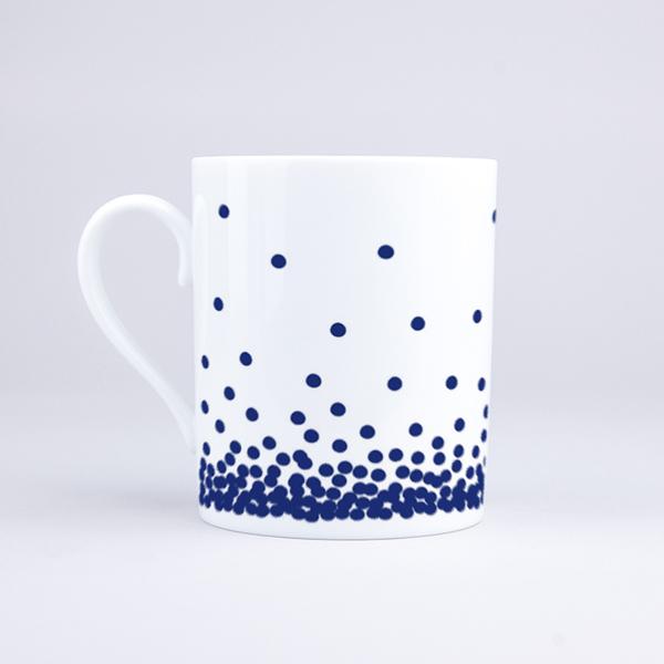 Vue du mug Dotted