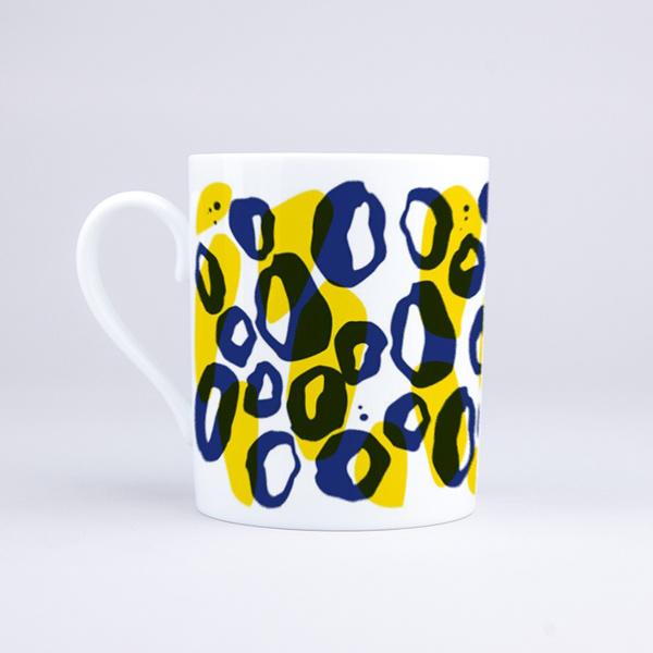 Vue du mug Panthère solaire