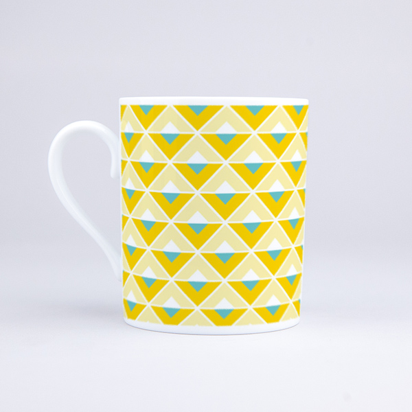 Vue du mug Maxi ananas