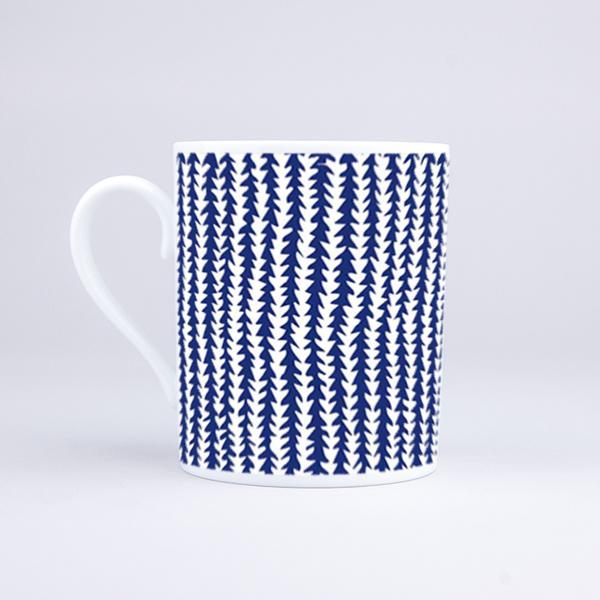 Vue du mug Vegetal Fabric