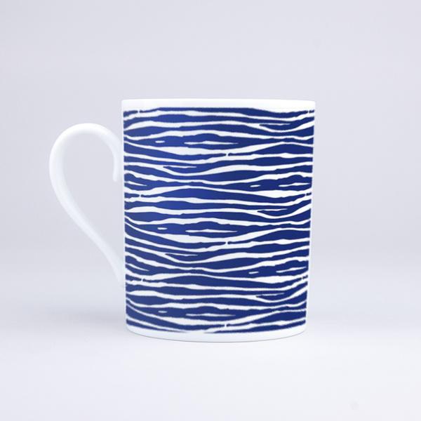 Vue du mug Zebra