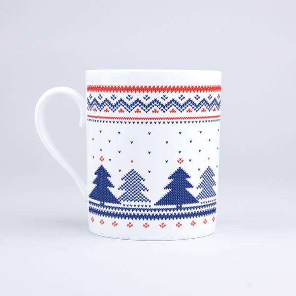 Vue du mug La forêt